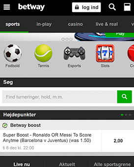 Betway mobil